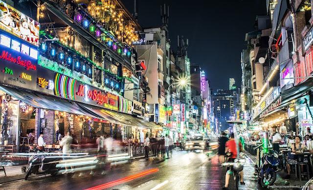 ulice Ho Chi MInh