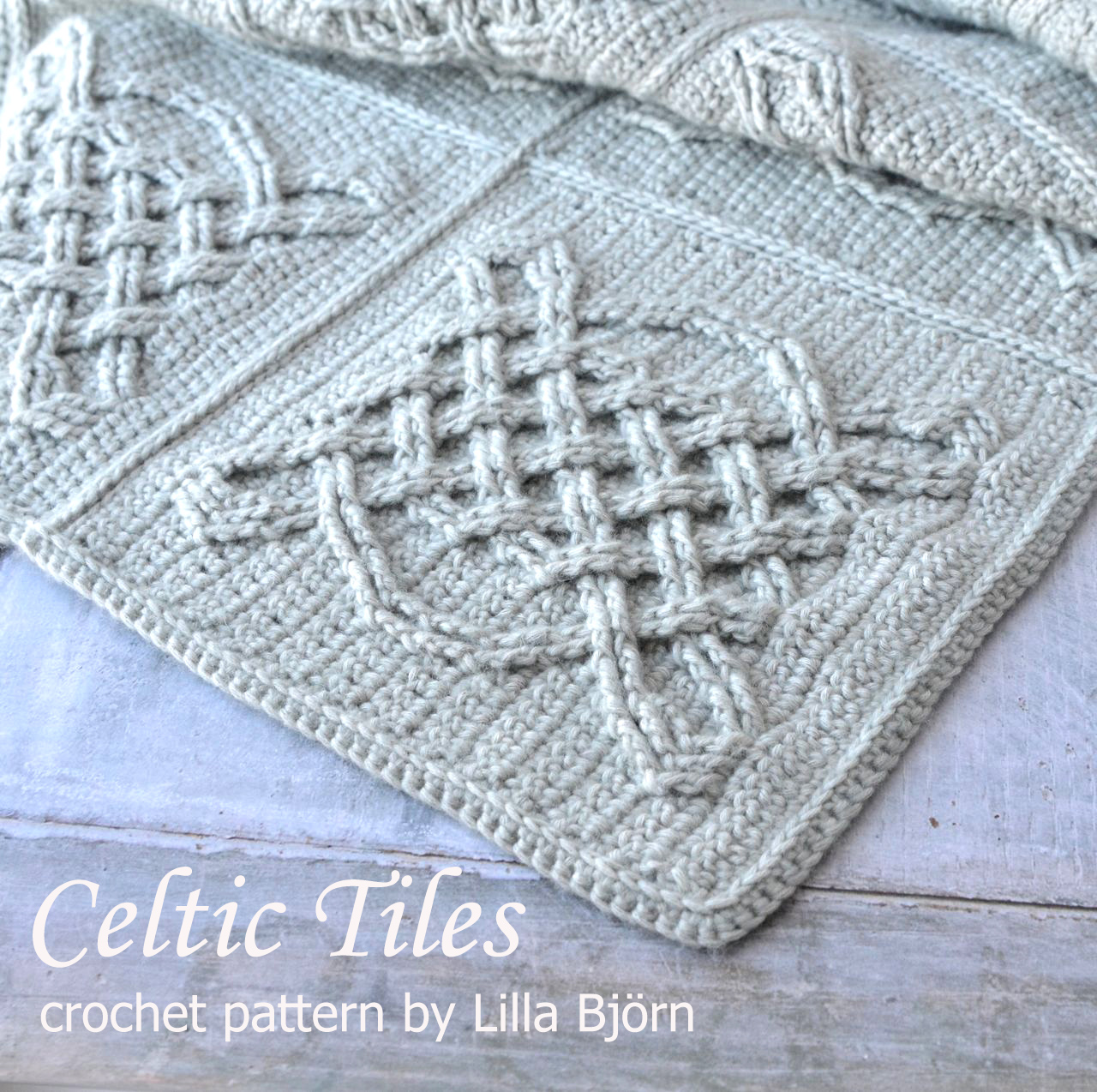 Celtic Tiles Blanket: Reveal | LillaBjörn\'s Crochet World