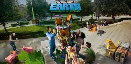 ستسمح Minecraft Earth للاعبين بإنشاء عالم افتراضي واسع في عالمك الحقيقي. مع تقنية AR المتقدمة ، ستنبهر بما تقدمه هذه اللعبة.