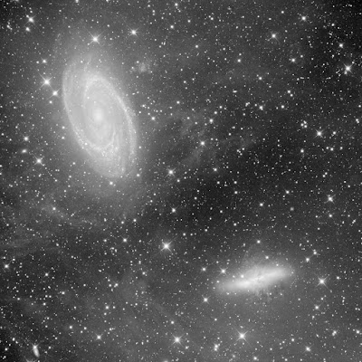 "Image of M81/M82 Taken Through 16"" Dream Astrograph"