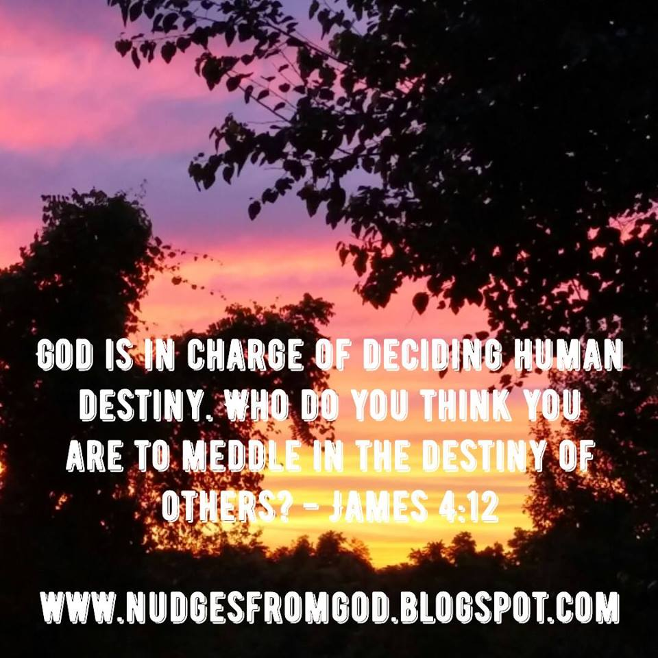 Nudges from God: Let's Talk About Loving Others Again- James