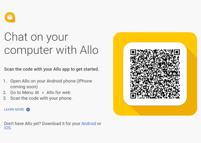 Google Allo now works on Chrome browsers for Android users
