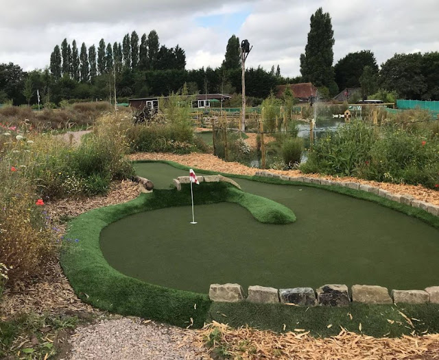 Junglemania Adventure Golf in Farnham. Photo by Matt Dodd, 27th July 2021