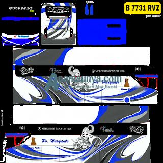Download Livery Bus Po Haryanto Srikandi