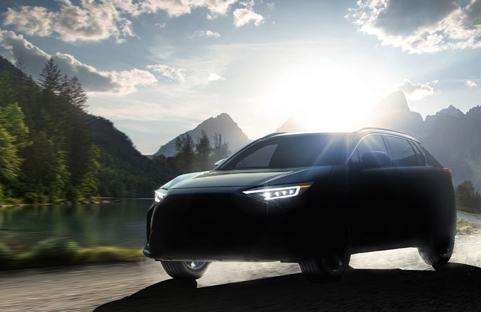 Subaru Bocorkan SUV Listrik Pertamanya