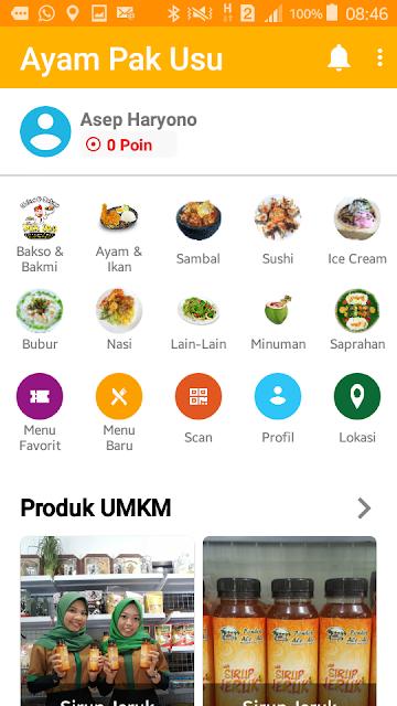 Ayam Pak Usu Apps di Google Playstore