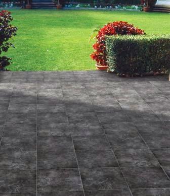 una combinacin de tamaos que le da un aspecto muy diferente al suelo - Suelos De Terraza
