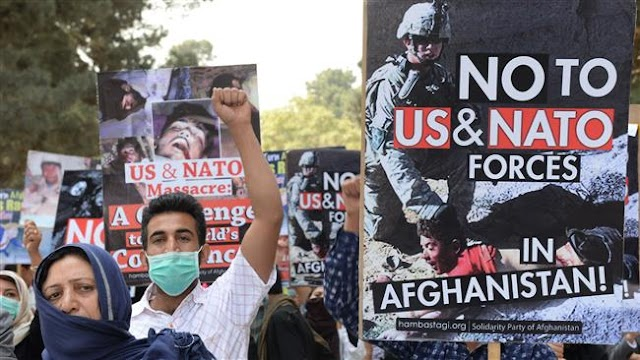 Kabul protesters want foreign forces out of Afghanistan