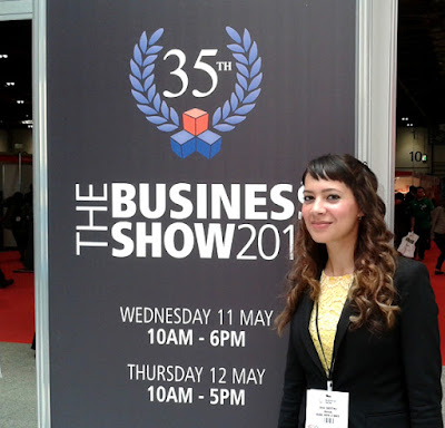 Anna-Christina at The Business Show 2016 at ExCel London image