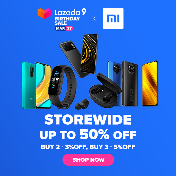 Xiaomi Lazada 9th Birthday Sale