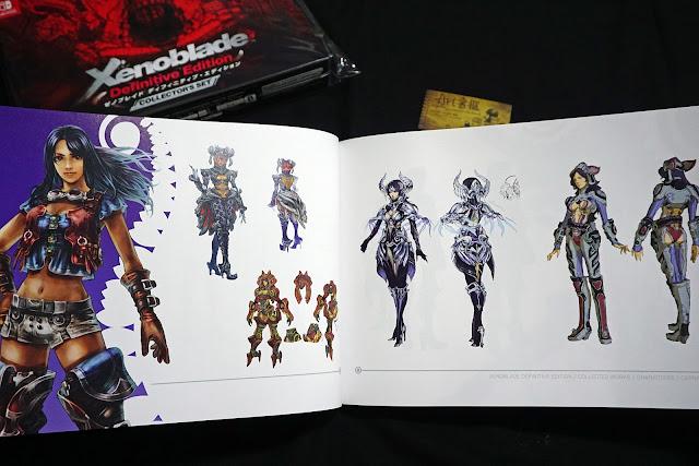 DSC01940 - 異域神劍 異度神劍 終極版 遊戲限定版畫集  ゼノブレイド ディフィニティブ・エディション / Xenoblade Definitive Edition / Xenoblade Chronicles: Definitive Edition