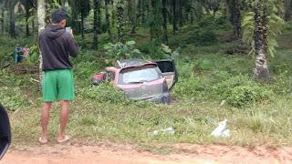 Rombongan Santri Kecelakaan di Semuntai Sanggau