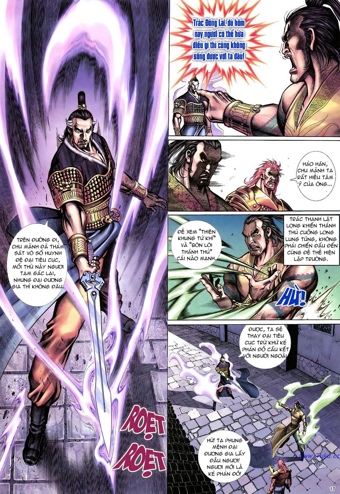Anh hùng vô lệ Chap 22 trang 18