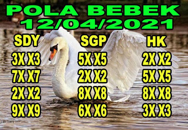 Syair sydney pola bebek 12 april 2021