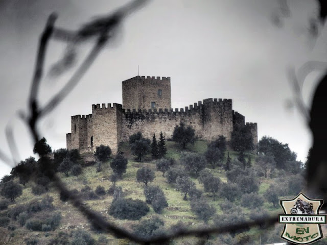 Vistas del Castillo de Belver