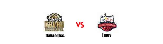 June 14: Davao Occidental Tigers vs Imus Bandera, 7:00pm Alonte Sports Arena