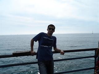Píer da praia de Santa Mônica