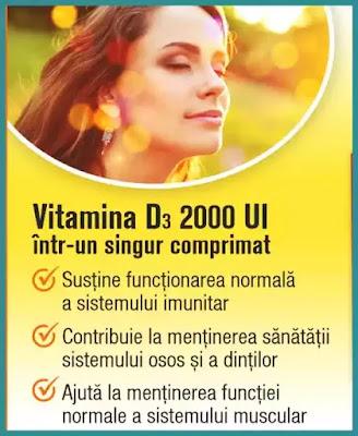 pareri doza zilnica recomandata de vitamina D3