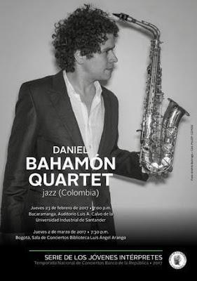 CONCIERTO DE DANIEL BAHAMÓN QUARTET