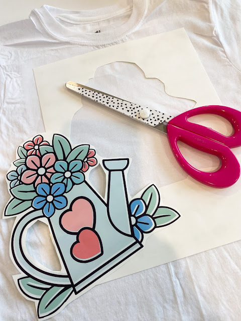 print and cut, printable heat transfer paper, printable material, printer for silhouette, silhouette print and cut