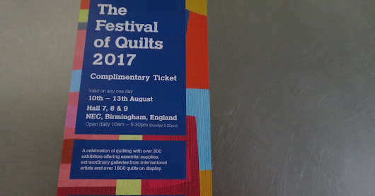 FREE TICKETS For Festival of Quilts