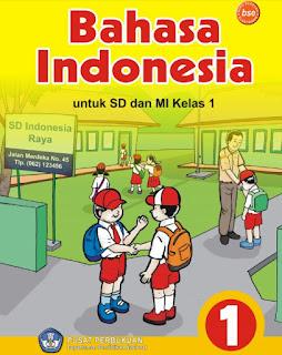 Buku Bahasa Indonesia Kelas 1 SD Kurikulum KTSP