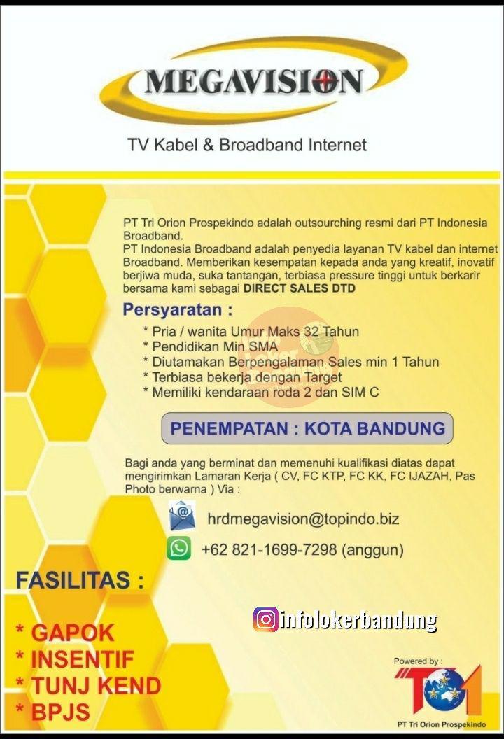Lowongan Kerja PT. Tri Orion Prospekindo Bandung Juli 2019