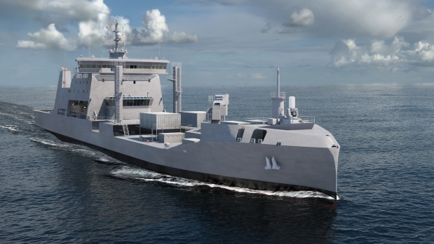 Resultado de imagen para Hyundai Heavy Industries lanzó un barco de reabastecimiento de flota para Nueva Zelanda
