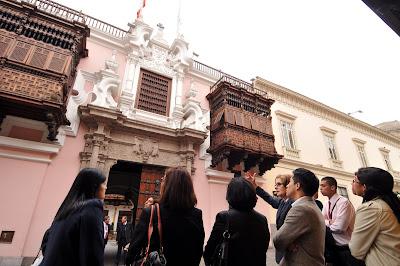 Palacio Torre Tagle, Casonas Lima