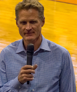 Steve Kerr, Coach of the Golden State Warriors and University of Arizona graduate