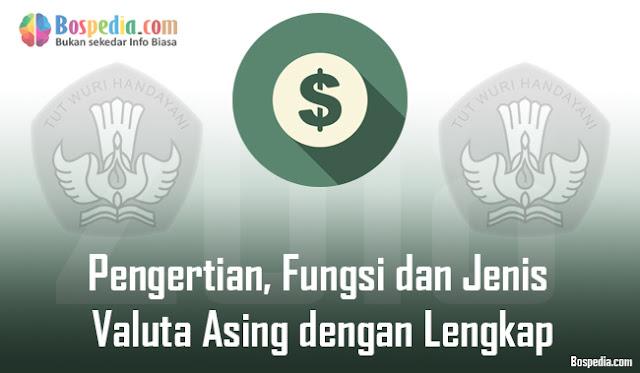 kita sering kali mendengar ataupun membaca istilah valuta asing baik di dalam berita ekon Pengertian, Fungsi dan Jenis Valuta Asing dengan Lengkap