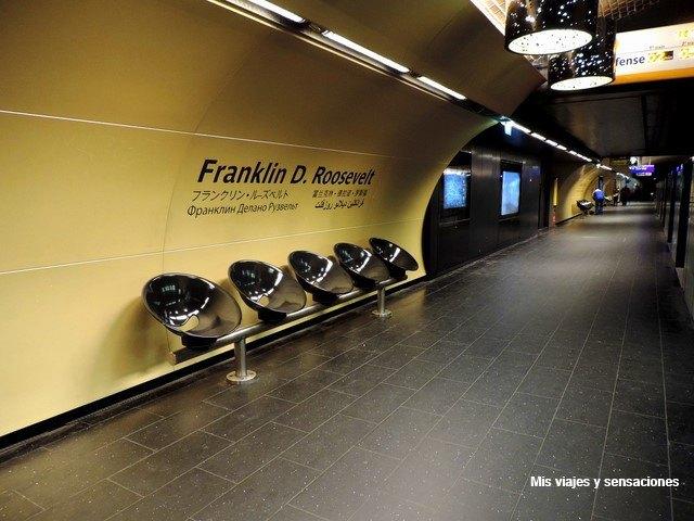 Estación de metro en París