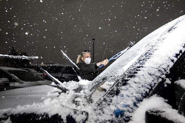 Η πρωτοφανής εναλλαγή του καιρού (από 38,3° στους -0,5° C) στο Κολοράντο