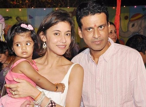 Image result for manoj bajpayee with wife