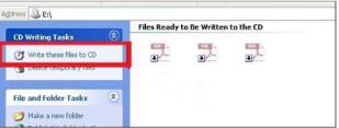 Cara burning CD di Windows XP