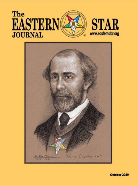 The Eastern Star Journal Features Portrait of Rob Morris by Travis Simpkins on Cover