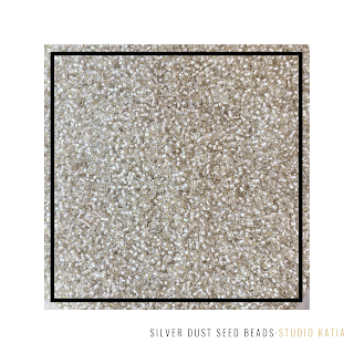 SILVER DUST | SEED BEADS