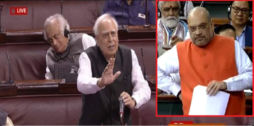 "Finally, Kapil Sibal also confessed, ""Citizenship law does not deprive anyone's citizenship !!"" : Held in Rajya Sabha,www.thekeralatimes.com"
