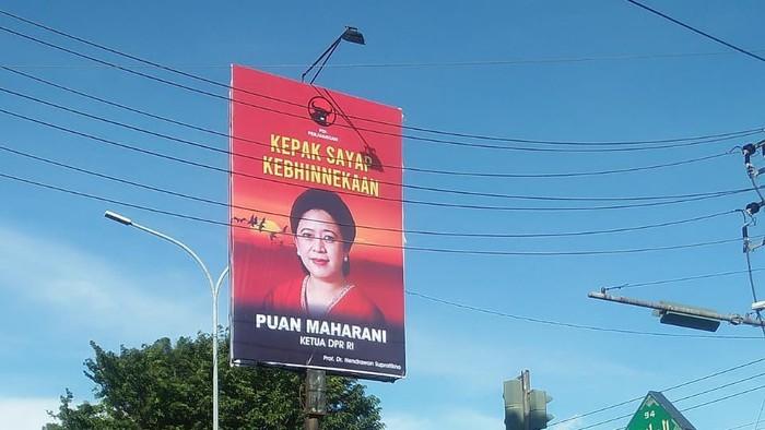 PDIP Sebut Pemasangan Baliho Puan Bukan soal Pilpres, Terus Buat Apa Dong?