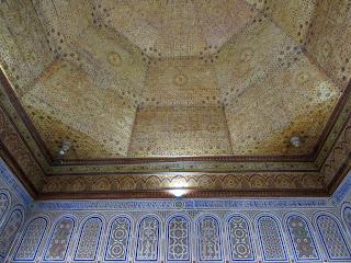 Techo; Artesonado; Palacio; Palace; Palais; Dar Si Said; Marrakech; مراكش; ⴰⵎⵓⵔⴰⴽⵓⵛ; Marruecos; Morocco; Maroc; المغرب