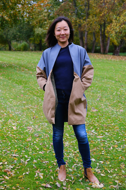 Papercut Sapporo jacket coat colourblock 2.0 update review