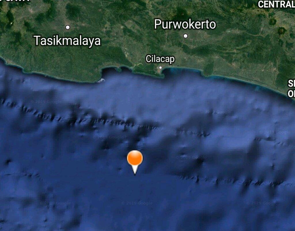 Innalillahi, Terjadi Gempa di Cilacap dan Nusa Dua Bali Hari Ini