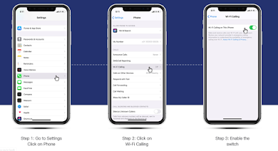 How To Enable On IOS Wifi Calling