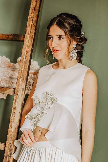 peinados de novias trenzado 2020