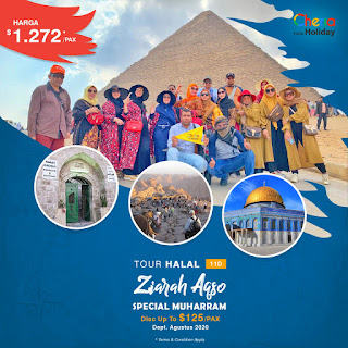 Paket Tour Aqsa Spesial Muharram 2020