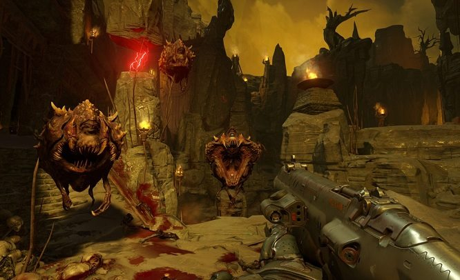 Doom 2016 PC Gameplay