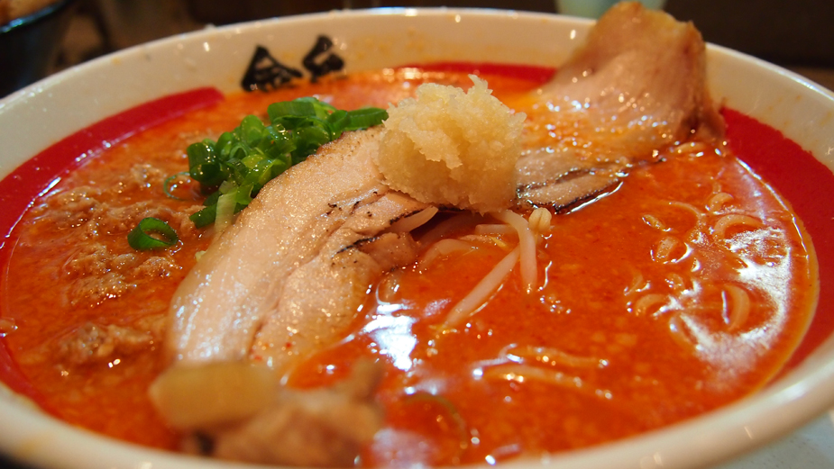 Kinton Ramen - Spicy Garlic Ramen