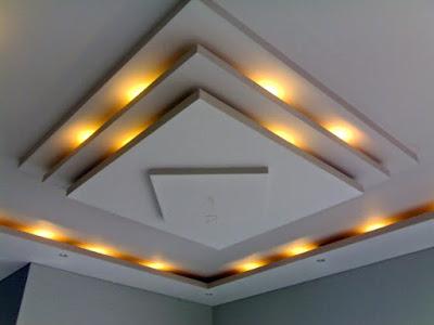 Biaya Renovasi Atap Plafon Gypsum 2019