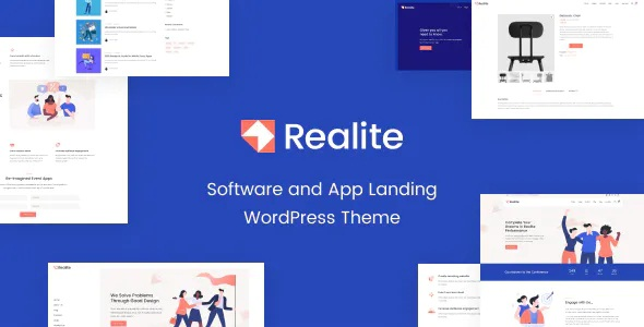 Realite – Software and App Landing Page Theme