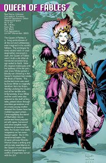 Reina de las Fabulas Ficha DC Comics